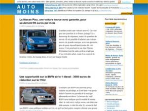 Auto Moins, le site pour acheter sa voiture neuve moins chère