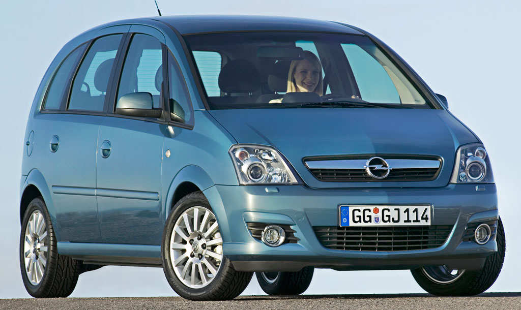opel meriva classic 111 1 4 litres un monospace compact pour 9990 auto moins. Black Bedroom Furniture Sets. Home Design Ideas