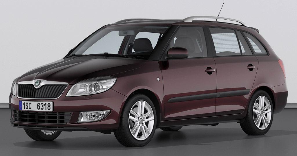 skoda fabia combi un break 9390 en essence et 10990 en diesel auto moins. Black Bedroom Furniture Sets. Home Design Ideas