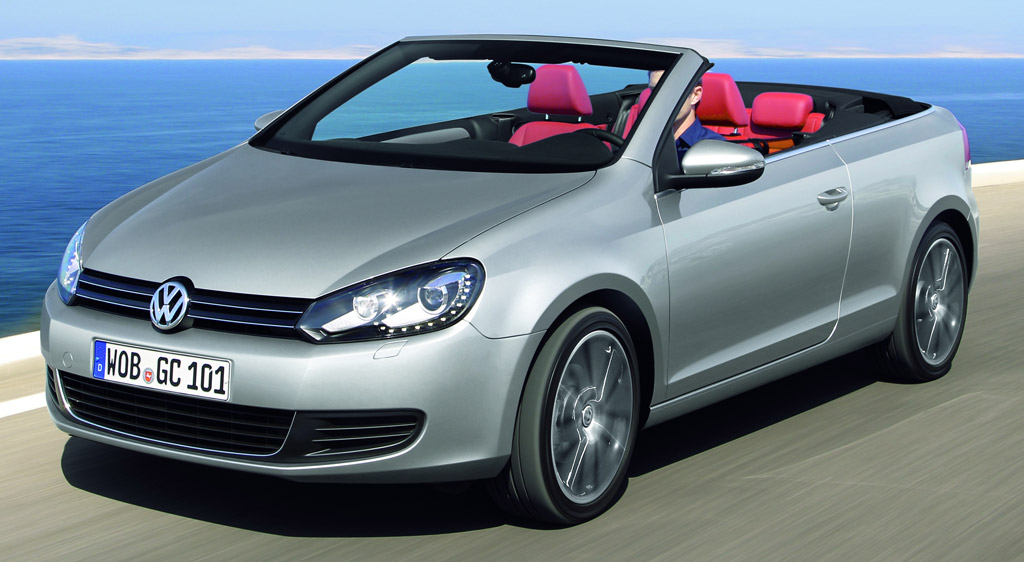 la nouvelle volkswagen golf cabriolet partir de 20890 euros avec une reprise auto moins. Black Bedroom Furniture Sets. Home Design Ideas