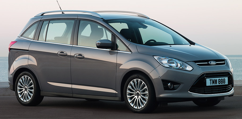 bien quip le ford grand c max titanium 1 6 7 places 19490 euros auto moins. Black Bedroom Furniture Sets. Home Design Ideas