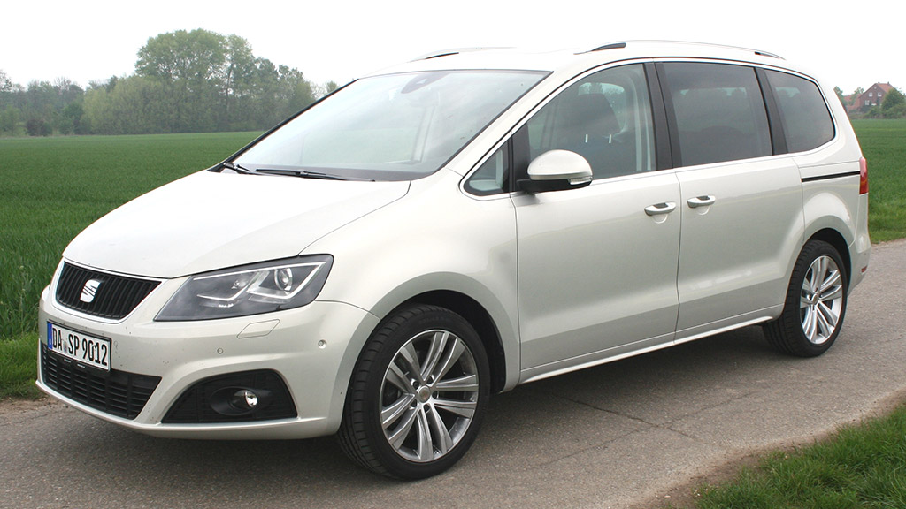 seat alhambra tdi un vaste monospace 7 places 549 par. Black Bedroom Furniture Sets. Home Design Ideas